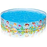 Latest Intex Snapset Pool Multi Color (8-feet)