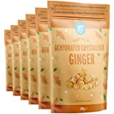 Amazon Brand - Happy Belly Ginger 200gr x 6