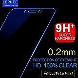 Calosc Tempered Glass 2.5d Full Screen Full Glue Screen Protector Guard Anti Fingerprint Perfect Clarity For LeTv Le 2/2s