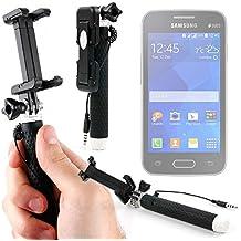 DURAGADGET Palo Selfie (Selfie-Stick) para Smartphone Samsung Galaxy On Nxt / Samsung Galaxy On8