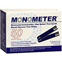 Preisvergleich für MONOMETER BLUTZUCKER TEST, 2X25 St