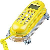 Wandtelefon Festnetz-Heimb/üro Hotelkabel Festnetz-Telefonanschluss Color : Red