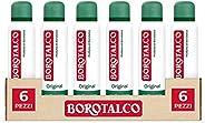 Borotalco Deodorante Spray Original con Microtalco, Assorbe il Sudore, senza Alcool, Pelle Asciutta e Protetta