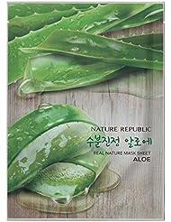[Nature Republic] Real Nature Mask Sheet 10 PCS Korean Cosmetics (Aloe 10 EA)