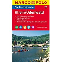 MARCO POLO Freizeitkarte Rhein/Odenwald 1:100.000