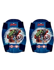 Marvel Avengers Childrens Elbow and Knee Pads Set Kids Skate Set of 4