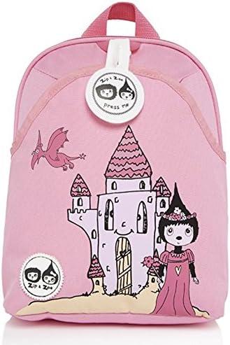 Babymel Kids mini zaino zaino zaino con imbracatura & Musical tag – Castle Zoe rosa design – adatto a partire da 1 – 4 anni | Ogni articolo descritto è disponibile  | Portare-resistendo  | Fornitura sufficiente  a4f896