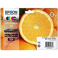 Epson C13T33374020 - Cartucho de tinta multipack, color cian