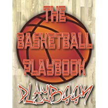 The Basketball Playbook PLAYBOOK: 8.5x11 100 Pages Matte Finish Blank Basketball Court Templates