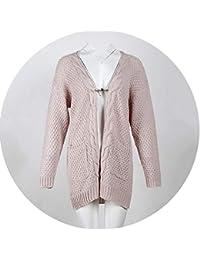201e81e2d3d884 Show-Show-Fashion-Sweater Inverno Twist Maglia Lungo Cardigan Donna Stile  Casual Tasca