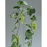 Artificiale Ghirlanda Di Vite con uva 180cm