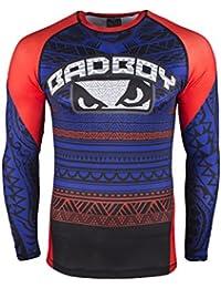 Bad Boy Rashguard, Art of Lua, Azul, Compression Camiseta, MMA, compresión, BJJ, medium