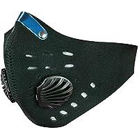 PrimeMatik - Neopren Maske für Mund und Nase für Fahrrad Biker und Skifahrer schwarz preisvergleich bei billige-tabletten.eu