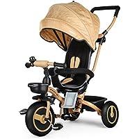 Fascol Trike Bicicletta Pieghevole Triciclo Passeggino per bambini da 6 mesi a 5 anni