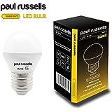5x 3W Golf Ball LED-Leuchtmittel E27/ES–Edisonsockel, Paul Russel sehr hell Lampe 3W = 25W Warm Weiß Glob Leuchtmittel