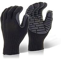 glovezilla anti-vibración guante negro, L, azul, 1