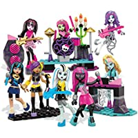 Monster High Mega Bloks Glam Ghoul Band Building Playset Childrens Toy 182 PCS