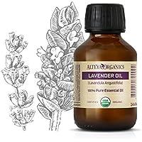 Alteya Bio Lavendelöl (Echter Lavendel) 100ml – 100% USDA Organic-zertifiziert Rein Natürlich Ätherisches Lavendelöl... preisvergleich bei billige-tabletten.eu