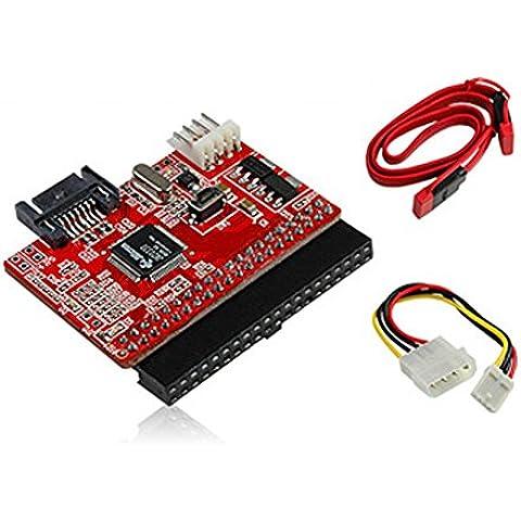 Sienoc IDE / PATA a S / Serial ATA-/ SATA / SATA a IDE cable / adaptador convertidor