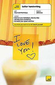 Teach Yourself Better Handwriting New Edition (TYHR)
