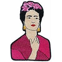 Frida Kahlo Patch von mimosch - Aufnäher