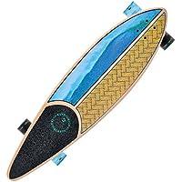 Skateboard Kryptonics Longboard Through complet avec roulements ABEC 5