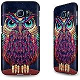 Hülle / Case für das Samsung Galaxy S6 mit Designer Motiv - ''Owl'' von Ali Gulec