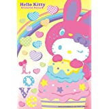 Hello Kitty 108 piece micro Rainbow Love M108-043 (japan import)