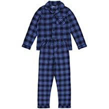 Pijama de cuadros azul REBEL