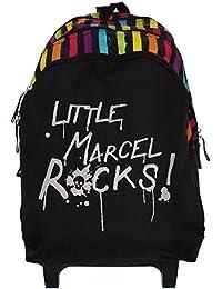 Little marcel - Sac à dos à roulettes Little Marcel ref_syd26116-lms litrock