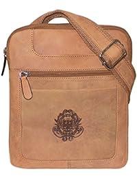Style98 100% Hunter Leather Crossbody Sling Bag||Messenger Bag||Handbag||Hard Disk Bag||Neck Pouch||Shoulder Bag...