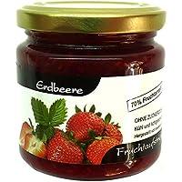 """Xylit Fruchtaufstrich """"Erdbeere"""" ohne Zuckerzusatz, nur mit Xylit gesüßt, 70% Fruchtanteil (mehr als Marmeladen), Low Carb, 200 g"""