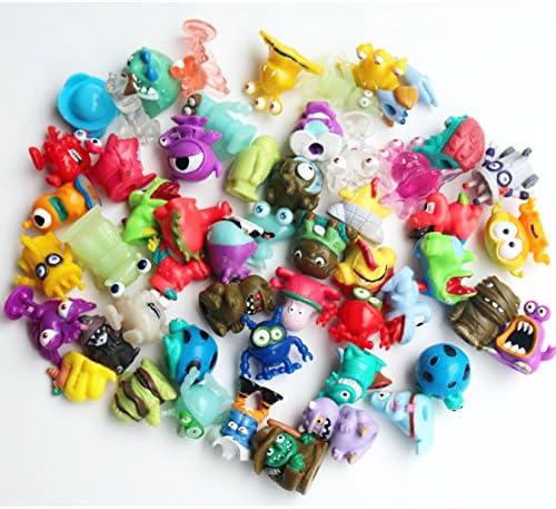 LOT de 10 10 10 figurines Monstres Approx 2.5cm-3cm 4bb0b3