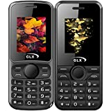 GLX W5 & W8, Basic Feature Mobile Phone, Combo Of 2 (Black)