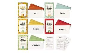 Think Tank Scholar 500 + Palabras de Vista Tarjetas Flash Bundle Kit (Preescolar, 1º, 2º y 3er Grado)