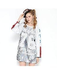 IMAGICSUN Camisetas y Tops Camiseta Deportiva Beisbol Larga Talla Grande Sport Blusa Mujer