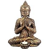 Jones Home et cadeau Photophore Bouddha, multicolore, Taille L