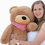 """Joyfay® 39"""" oso de peluche gigante 100cm de la muñeca de juguete suave de la felpa de peluche oso de peluche de juguete Color marrón"""