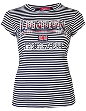 Love Lola - Camiseta - Rayas - para mujer