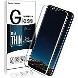 Galaxy S8 Protection Écran ,Galaxy S8 Verre Trempé ,Soyion Film Protection en Verre Trempé écran Protecteur Vitre Pour Samsung Galaxy S8 Anti Rayures (Transparent)