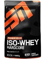 ESN IsoWhey Hardcore Protein, Chocolate, 1 kg