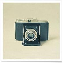 """JUNIQE® Poster 50x50cm Retro & Vintage - Diseño """"Captured"""" (Formato: Square) - Láminas, Impresiones en papel & Imagenes por artistas independientes diseñado por Cassia Beck"""