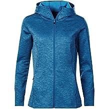 Berghaus Kamloops Full zip giacca in pile, donna, Kamloops, Light Galaxy Blue Marl, XL