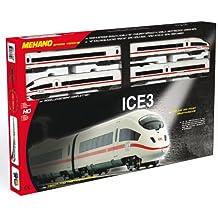 Mehano - Tren para modelismo ferroviario (H0 ME START-SET ICE 3 DER DB AG T742)