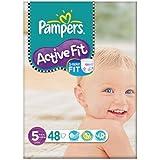 Pampers active Fit Taille 5 (11-25 kg) Grand sac junior 2x48 par paquet