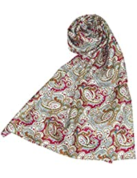 Seventh Doctor (Sylvester McCoy) Scarf - Official BBC Doctor Who 7th Doctor 100% Pure Silk Scarf by LOVARZI