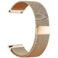 BarRan® Nokia Steel HR 36mm Bracelet, 18mm Milanese Boucle du Bracelet Montre Serrure Magnétique Sangle pour Nokia Steel HR 36mm Smartwatch
