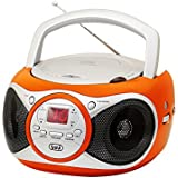 Trevi CD 512 - Radio CD (Digital, AM, FM, Jugador, CD, CD-R, CD-RW, AC / batería, 87,5 - 108 MHz)