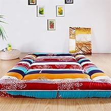GDAFSDVACF Colchón de Tatami japonés/colchón/colchón Plegable Extra Grueso/Alfombra Blanda para