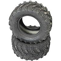 2 Neumáticos 25 X 10 – 12 Rueda para ...